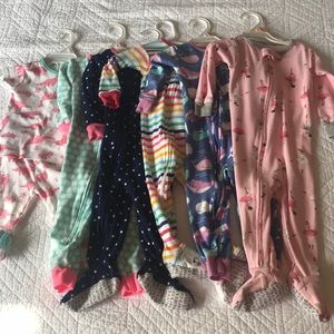 Girls Carters Pajama Pack-12 Months🎀🎀🎀